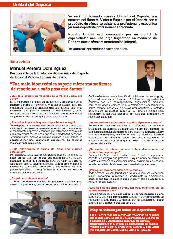 Estudio biomecanico Sevilla Microtraumatismos
